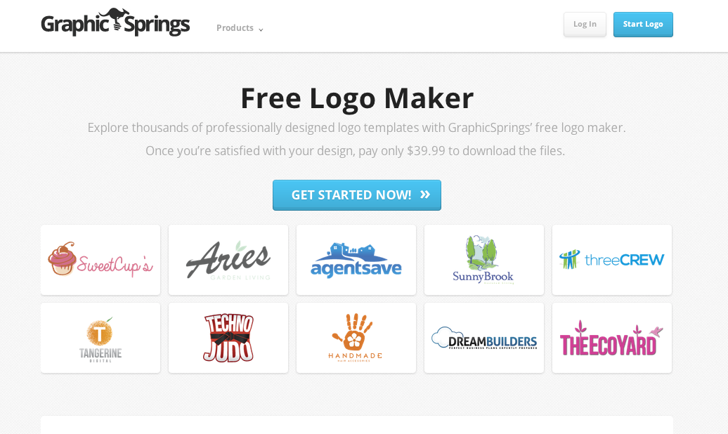 Free Logo Maker  Create Your Own Logo Design  Tailor Brands