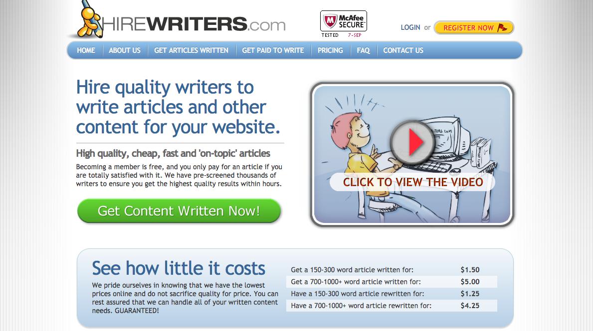 hirewriters